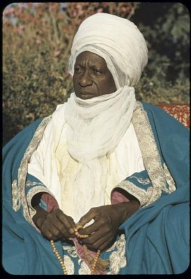 Sarkin Musulmi alhaji Sir Abubakar, the Sultan of Sokoto, Sokoto, Nigeria. [slide]