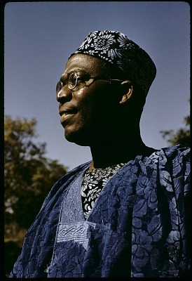 Chief Obafemi Awolowo, Premier of the Western Region, Nigeria. [slide]