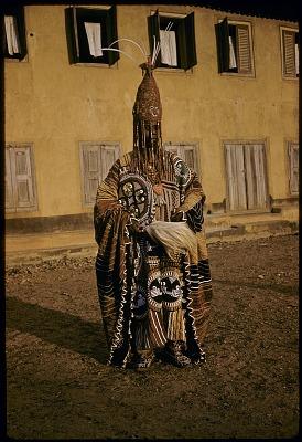 Oba Ademuwagun Adesida II, the Deji (ruler) of Akure, Akure, Nigeria. [slide]