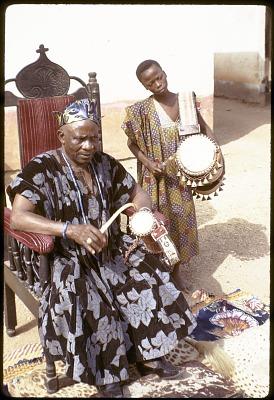 John Adetoyese Laoye I, Timi of Ede, Ede, Nigeria, [slide]