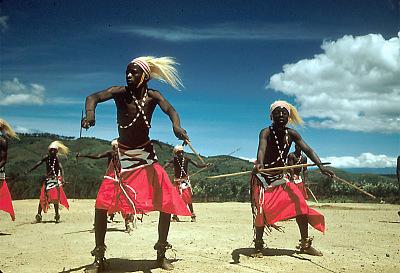 Ntore dancers, Gisenyi, Rwanda, [slide]
