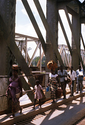 Bridge over Inkisi River, near Mbanza-Ngungu, Congo (Democratic Republic), [slide]