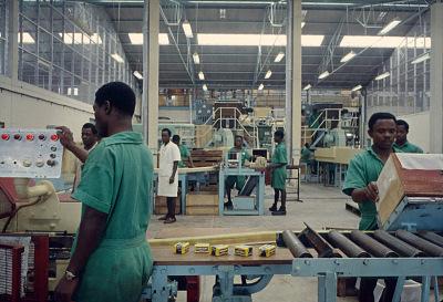 Lever Bros. Ltd., soap factory, Aba, Nigeria. [slide]
