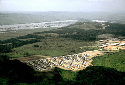 Workers camp at hydroelectrical complex, Inga, Congo (Democratic Republic), [slide]