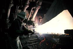 Gecamines copper smelter operation, Lubumbashi, Congo (Democratic Republic), [slide]