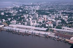 Riverport facilities, Kinshasa, Congo (Democratic Republic), [slide]