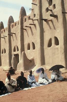 The village Mosque, San village, Mali. [slide]