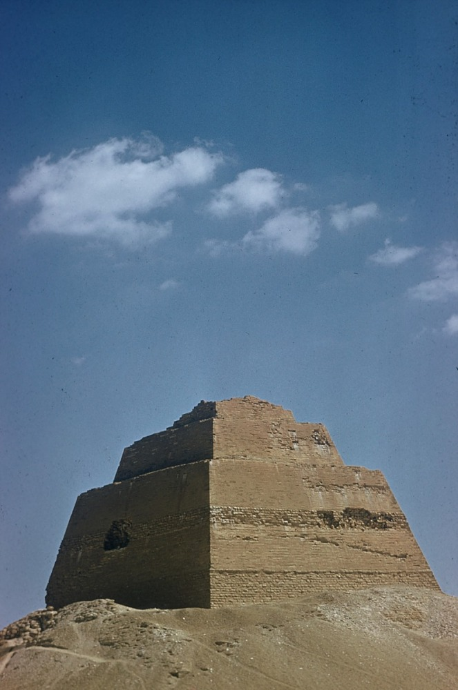 images for King Sneferu's pyramid, Meidum Pyramid, Egypt, slide