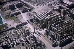 East-west axis of the precinct of Amon, Karnak, Egypt, [slide]