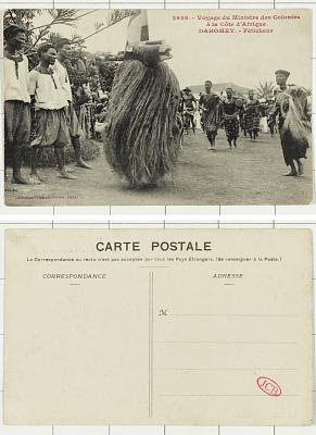 The Secretary of the Colonies [postcard] : Dahomey