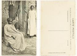 Madagascar - Tananarive [postcard] : Femme Filant la Soie