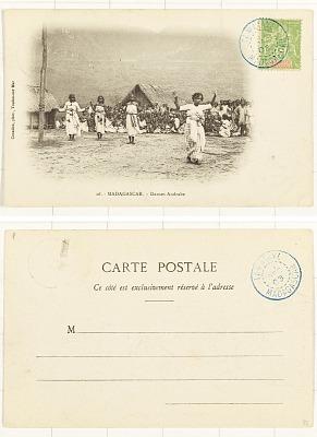 Madagascar - Danses Andrabe [postcard]