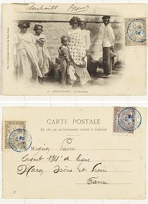 Diégo-Suarez - A la Fontaine [postcard]