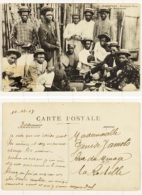 Tamatave - Marchands Hova et Betsimisaraka [postcard]