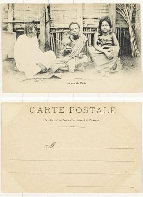 Joueur de Viola [postcard]