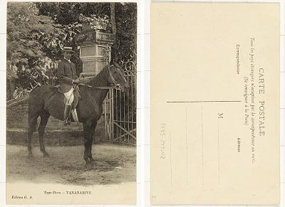 Type Hova -TANANARIVE [postcard]