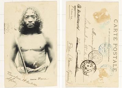 Guerrier [postcard]