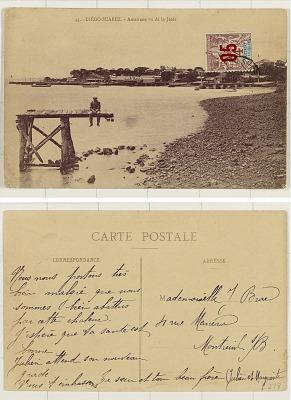 Diégo-Suarez [postcard] : Antsirane vu de la Jetée