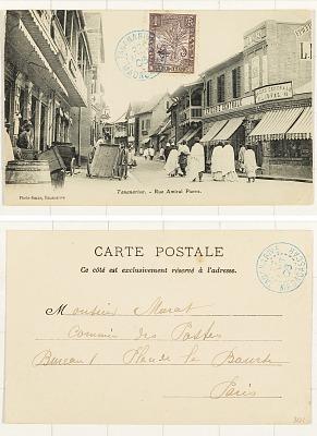 Tananarive [postcard] : Rue Amiral Pierre