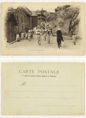 Une Rue de Tananarive [postcard]