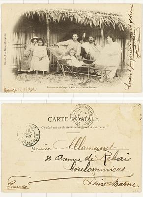 Environs de Majunga [postcard] : Villa du Val des Prunes