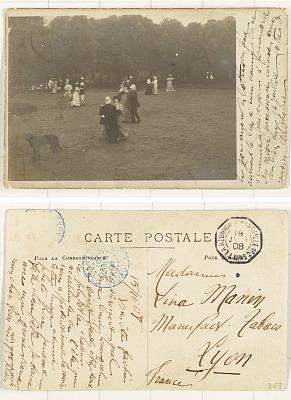 [Dancing] [postcard]