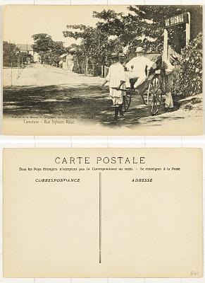 Tamatave [postcard] : Rue Sylvain Roux