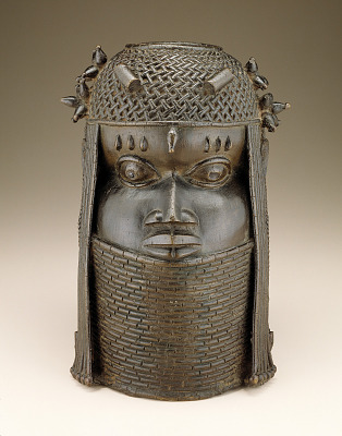 Commemorative head of a king