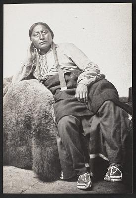 Chief Ma-Min-Nic (Eagle Head) 1867-75