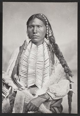 Young Man in War Dress 1867-75