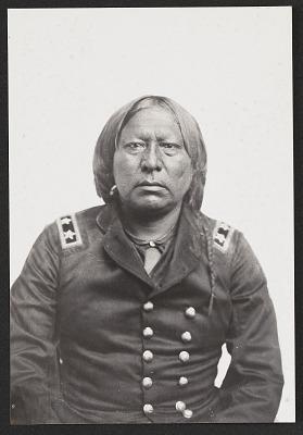 Portrait of Stumbling Bear 1867-75