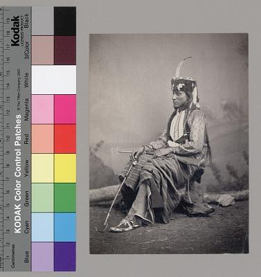 Portrait of Tau-Ankia (Tibone), Son of Lone Wolf 1867-73