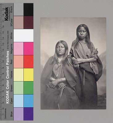 Two Kiowa Women 1867-75
