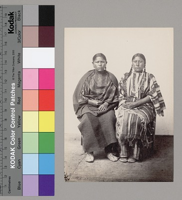 Sauke and Hat-Py , Two Cheyenne Women 1867-75