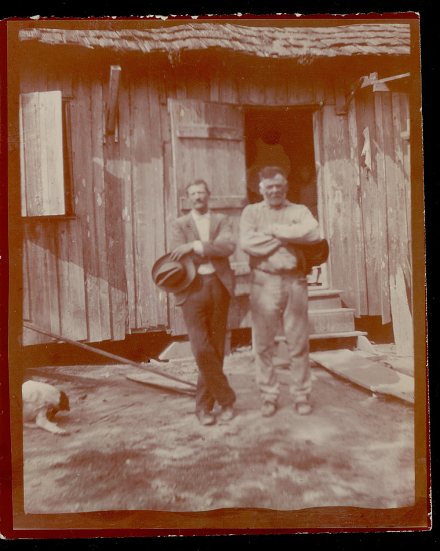 Image 1 for Mr Berger and Louis Frederick, Terre Bonne Parish, LA n.d