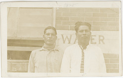 Henry Jim, 24 Years Old, and Milton Jimmy, 21 Years Old 1925