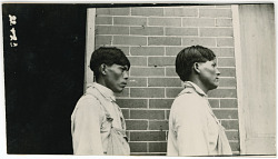 Photograph with Eli Willis, 25 Years Old, and John Charlie, 30 Years Old 1925