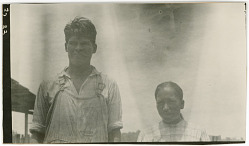 Photograph with Will Jim, 29 Years Old, and Louisa Jim, 26 Years Old 1925