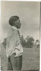 Photograph with Jackson M. Jim, 23 Years Old 1925