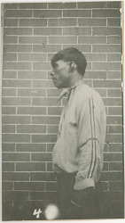 Photograph with Vardaman Stribling, 23 Years Old 1925