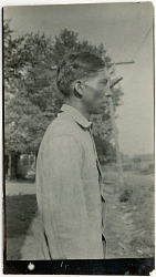 Photograph with Jim Gardner, 26 Years Old 1925