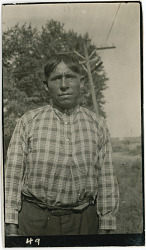 Photograph with Edward Lewis, 35 Years Old 1925