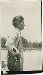 Photograph with Jim Isaac (Isaac Jim?), 27 Years Old 1925