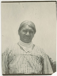 Photograph with Martha Jim, 58 Years Old 1925
