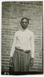 Photograph with Jacob Dausby, 37 Years Old 1925