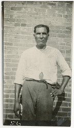 Photograph with Will Jimmy, 46 Years Old 1925