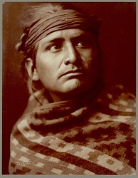 """A Navaho"" / ""A Chief of the Desert"" Copyright 03 NOV 1904"