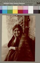 """""""A Navaho Smile"""" Copyright 03 NOV 1904"""