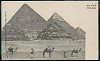 images for Men in Costume on Camels Near Pyramids 1904-thumbnail 2