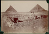 images for Men with Saddled Camels at Great Sphinx and Pyramid Khufu (Cheops) (2551-2528 BC) and Pyramid and Temple of Khephren (Ra-Kha-Ep) (2520-2494 BC) 1868-thumbnail 1
